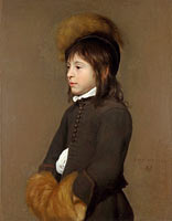 Jacob Van Oost the Elder: Portrait of a Boy aged 11