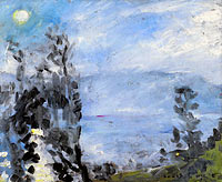 Lovis Corinth: Walchensee, Moon in June