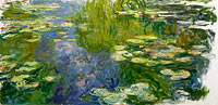 Claude Monet: The Pool with Waterlilies