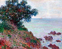 Claude Monet: Mediterannian Coast, Grey Weather