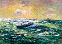 Henry Moret: Rescue Boat at Audierne, Finistere