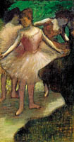 Three Dancers in Pink