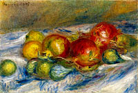 Still Life with Figs and Granates
