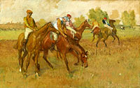 Edgar Degas: Before the Race