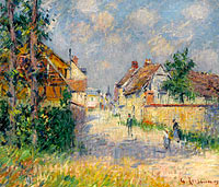 Гюстав Луазо: The Street at Saint-Cyr-du-Vaudreuil