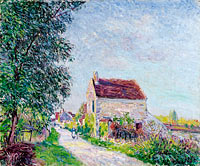 Alfred Sisley: The Village of Sablons