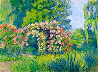 Giverny, the Rosarium of Monet