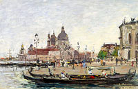 Eugène Louis Boudin: Venice, the Salute