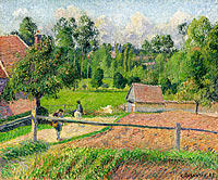 View from the Artist's Window, Eragny