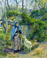 The Shepherdess and the Goat