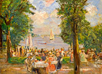 Beergarden near the Wannsee (House on the Lake)