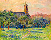 Henry Moret: The Church of Clohars-Carnoet