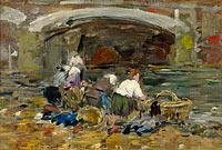 Laundresses near the Bridge (1)