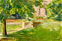 Max Liebermann: House and Terrace to the Southwest