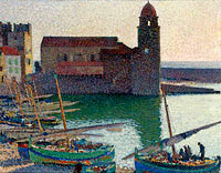 Анри Мартен: The Port of Collioure