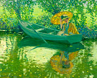 Frederick Carl Frieseke: On the River