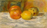 Pierre-Auguste Renoir: Still Life with Fruit