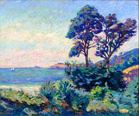 Jean-Baptiste-Armand Guillaumin: Seascape at Saint-Palais