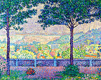 Paul Signac: Terrace of Meudon