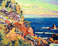 Jean-Baptiste-Armand Guillaumin: Rocks at Agay