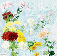 Achille Lauge: Study of Chrysanthemums