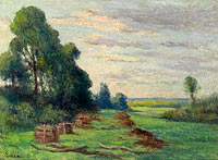 Максимильен Люс: Landscape in the Outskirts of Rolleboise