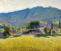 Comblat-le-Chateau. The Valley