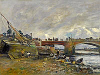 The Laundresses near the Bridge (2)