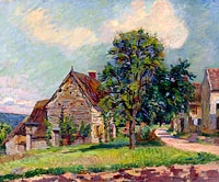 Jean-Baptiste-Armand Guillaumin: The Village of Damiette