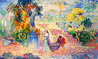 Henri-Edmond Cross: Lady at the Park