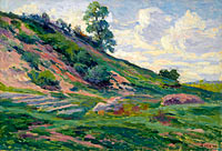 Maximilien Luce: The Outskirts of Moulineuz near Etampes