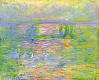 Claude Monet: Charing Cross Bridge (3)