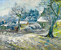 The Farm at Montfoucault, Snow