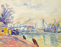 Paul Signac: The Port of Flessingue