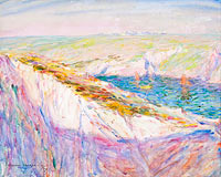 Джон Питер Рассел: Chalk Cliffs at Goulphar Bay