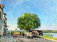 The Chestnut Tree at Saint-Mammes