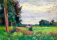 Maximilien Luce: View of Mereville
