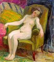 Nude in Armchair (2)