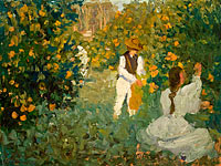 Emanuel Phillips Fox: The Orange Pickers