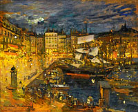 Konstantin Korovin: The Port of Marseille