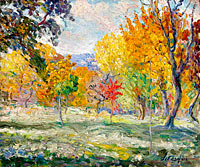 Henri Lebasque: Landscape with Trees