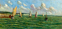 Honfleur, Sailers on the Sea