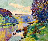 Jean-Baptiste-Armand Guillaumin: The Echo Rock at Crozant
