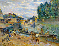 The Bridge of Sully, Paris