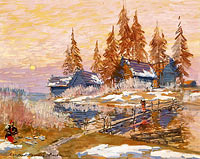 Konstantin Korovin: Late Winter