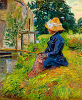 Жан-Батист-Арман Гийомен: Madame Guillaumin Fishing