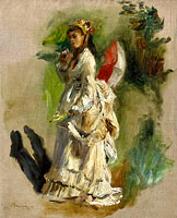 Young Woman with a Parasol (2)