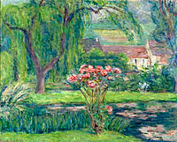 Blanche Hoschedé Monet: Giverny, Roses and Waterlilies