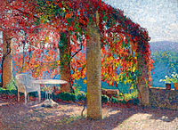 Henri Martin: The Arbour in the Southwest of Marquayrol in Autumn