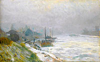 The Seine in Winter